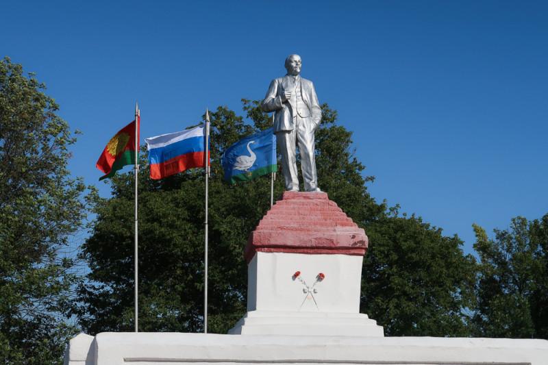 Ленин в Лебедяни