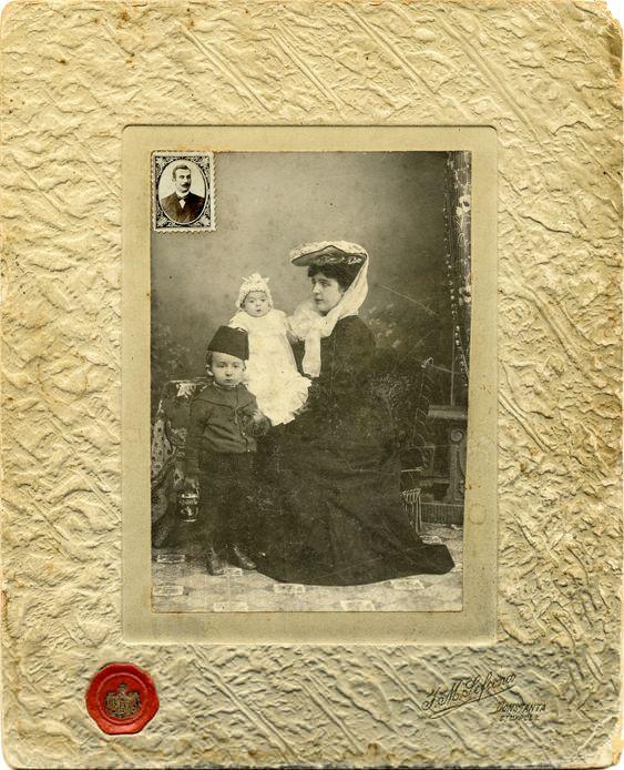 I.M. Sefcenco (Str. Carol l, Constanta, Romania). 1900
