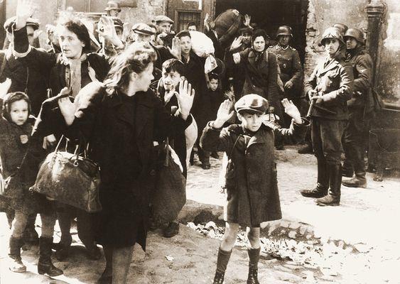 Варшавское гетто. 1943