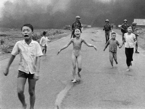 Ник Ут. Напалм во Вьетнаме. 1972