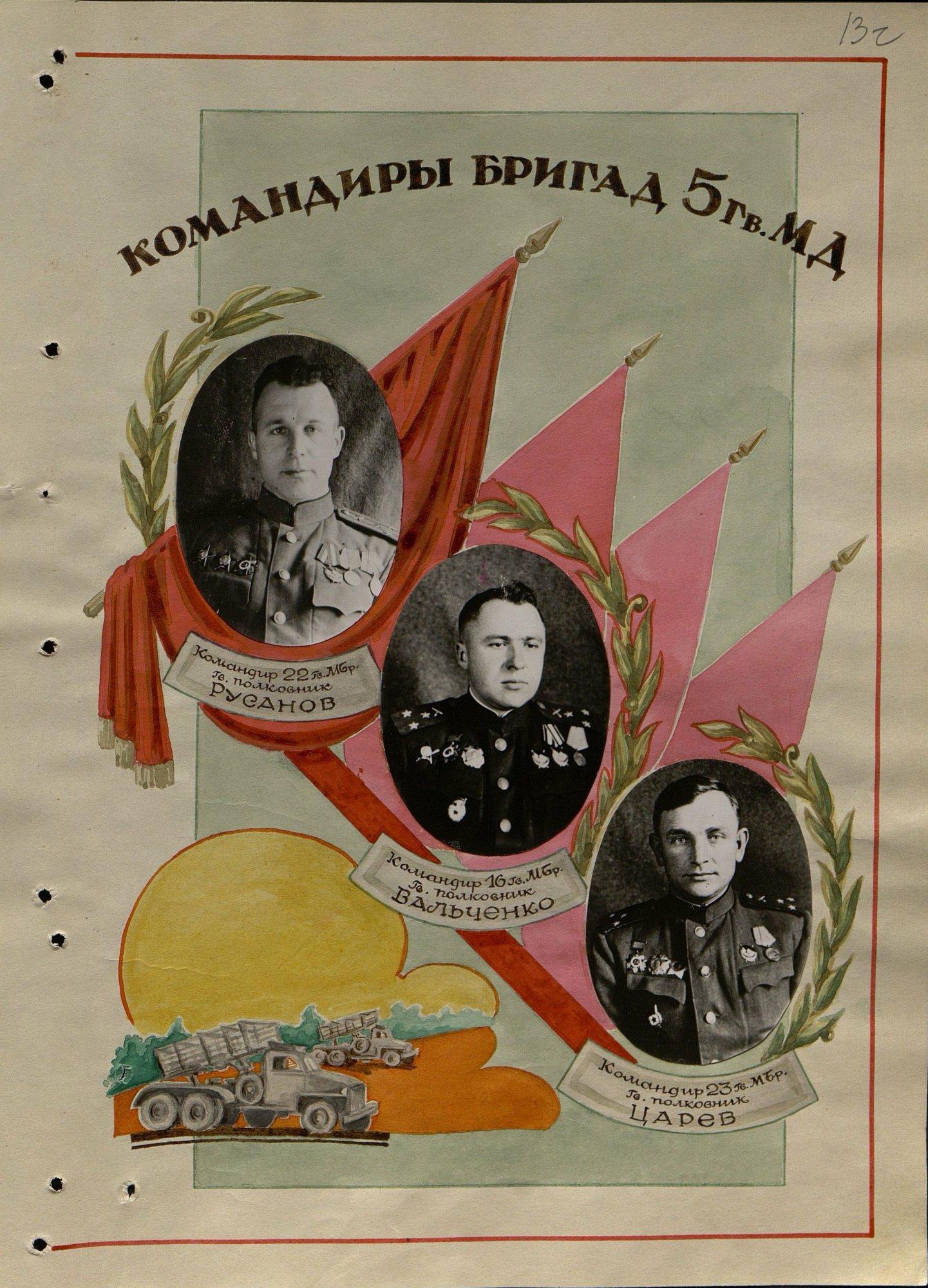 Отчет о боевых действиях 4 артиллерийского корпуса РВГК