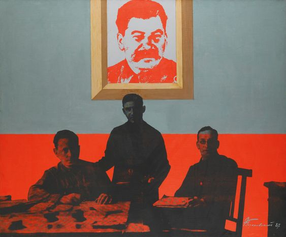 Эдуард Гороховский. Сталин. 1987