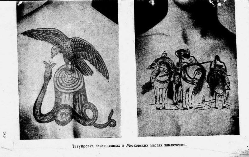 М. Гернет. Татуировка в местах заключения г. Москвы