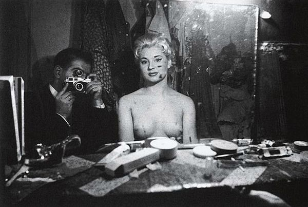 Франк Орват. Автопортрет. 1956