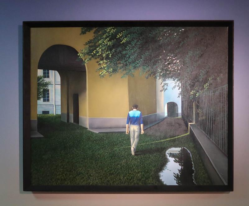 Тоомас Винт. Старый город. 1986. Третьяковская галерея