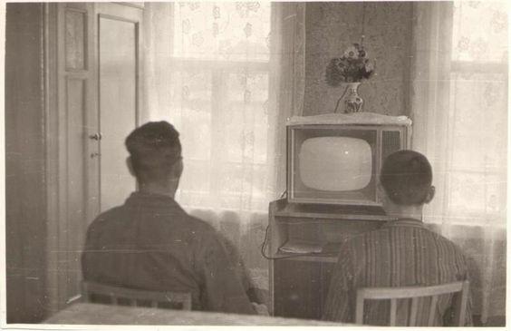 """Все больше антенн и телевизоров в селе Борском 1967г. """"Борский краеведческий музей"""""""