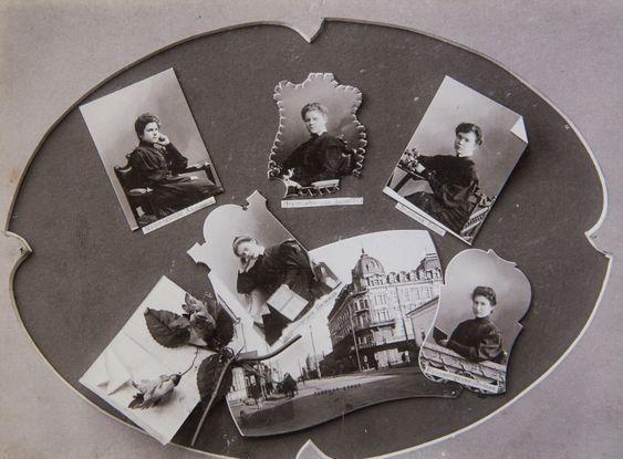 Самарское епархиальное женское училище. улица Саратовская, 98. выпуск 35, 1908-1909 гг.