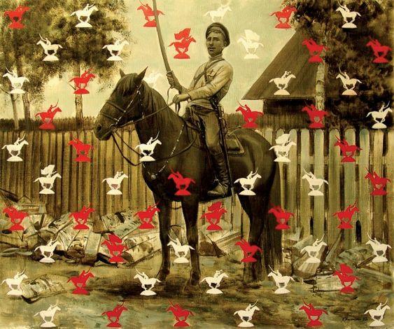 Г. Кичигин. Ситец Гражданской войны. 2010