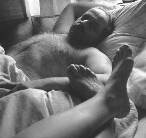 """Алик и я. 1994. из серии """"Обнаженные портреты"""""""