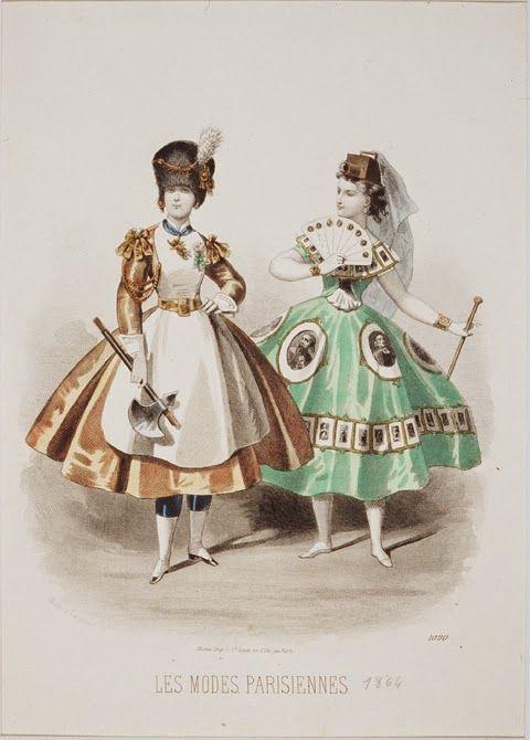 Les Modes Parisiennes. 1866
