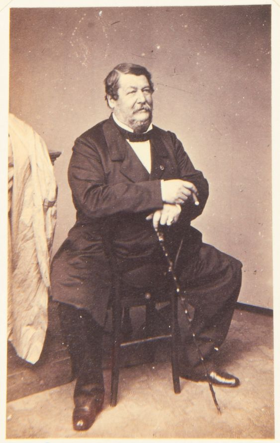 Prince Lucien Murat, 1860. [Album: Photographs. Royal Portraits, vol.48]
