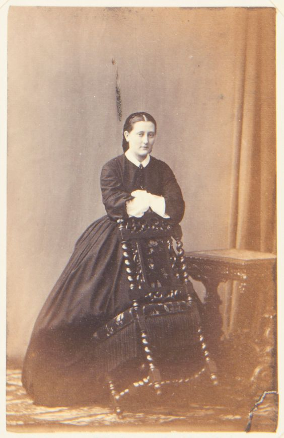 Princess Marie of Leuchtenberg, 1861. [Album: Photographs. Royal Portraits, vol.48]