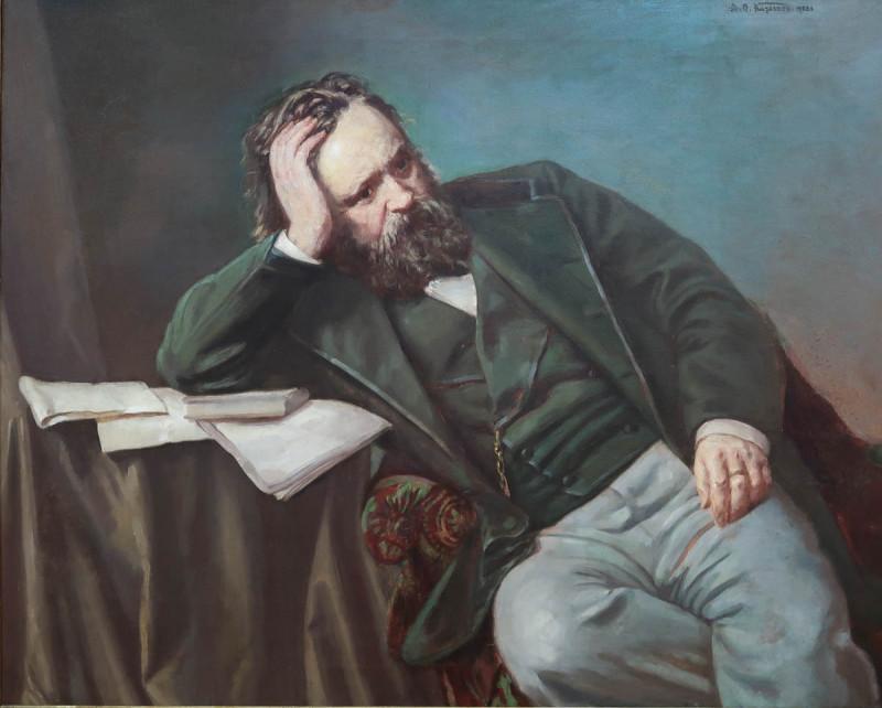 А.О. Карелин. Портрет А.И. Герцена. 1902