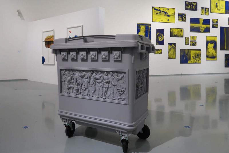 """Recycle Group.Саркофаг. На выставке """"Тень души, но заостренней чуть"""" в МАММ"""