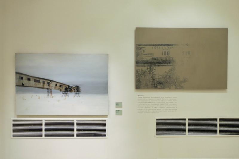 Павел Отдельнов. Руины. Переход (слева). Переход (справа).