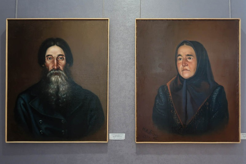 Александр Гусев. Портреты неизвестных. 1898