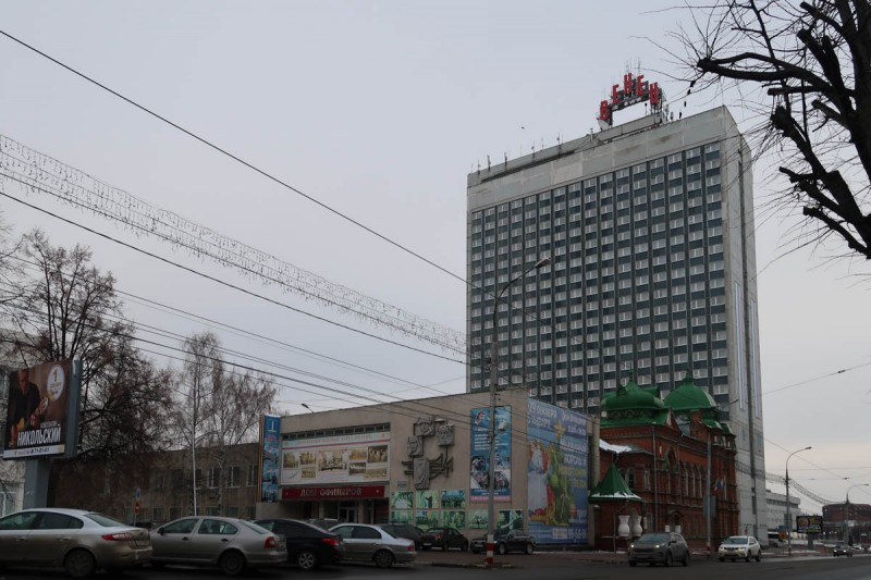 Спасская улица. Ульяновск
