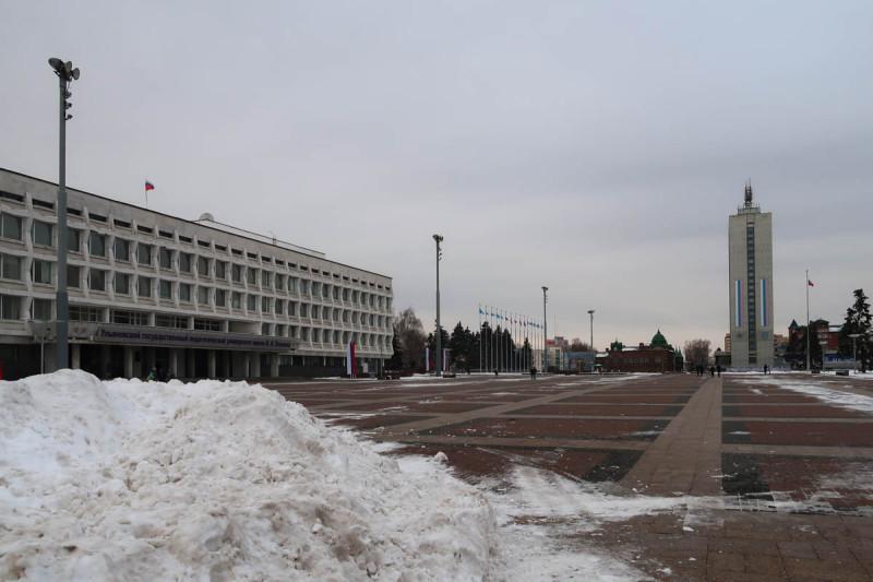 Площадь Ленина. Ульяновск