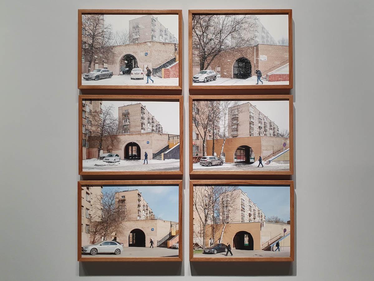 выставка Александра Гронского «Время и место» в Pennlab Gallery
