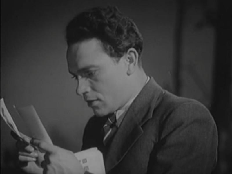 """кадр из фильма """"Новая Москва"""" 1938г."""