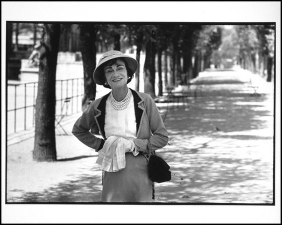 Coco Chanel, 1951, Alexander Liberman. The Getty Research Institute, 2000