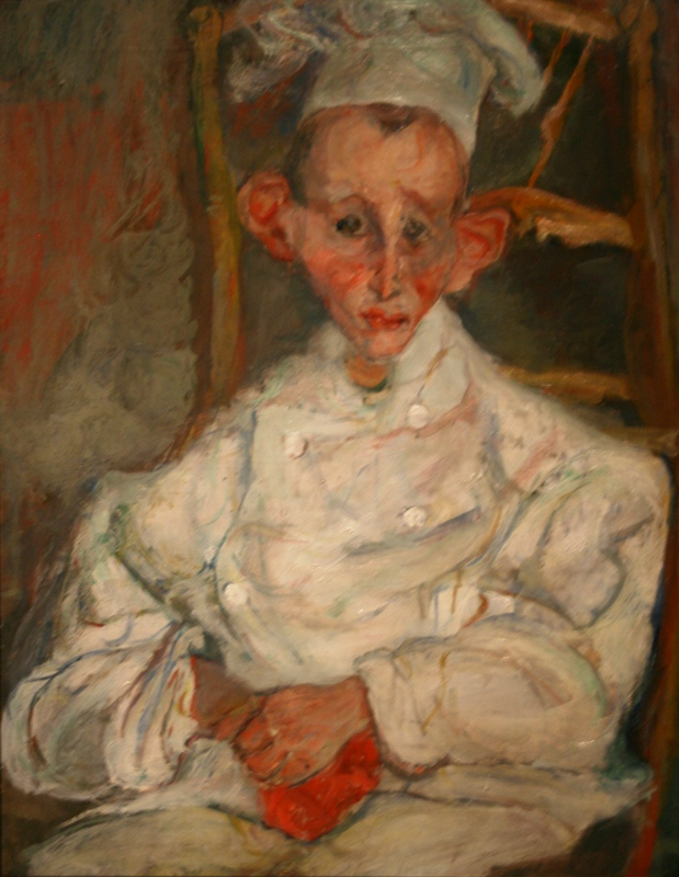 Хаим Сутин «Кондитер из Кань» 1922-1923