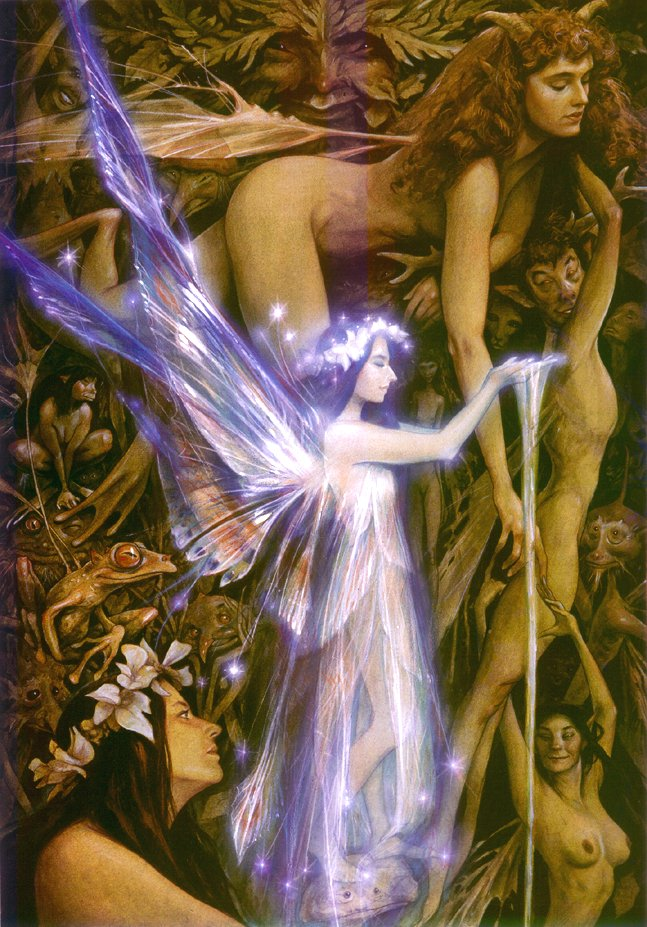 """Magical Creatures"" by Brian Froud"