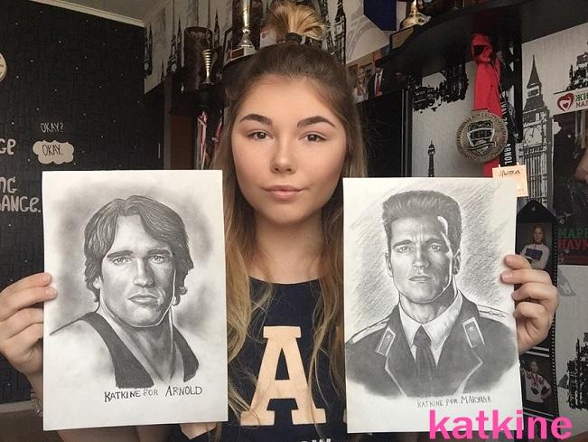 арнольд шварценеггер марьяна наумова портреты евгения каткина  katkine 58