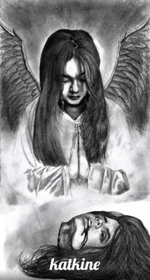 Evgenii_Katkin_1504371032_liza_s_zhenskoi_golovoi_evgenii_katkin_katkine_ евгений каткин портрет лизы с отрезанной женской головой
