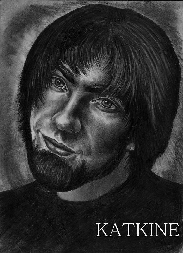 портрет мягкими карандашами евгений каткин katkine om jjj