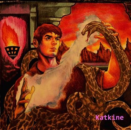 Katkine 3 snake Anaconda евгений каткин