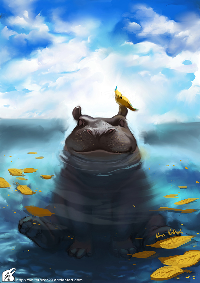 happy_hippo_by_whiteraven90-d3ae308