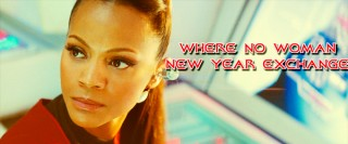 where no woman new year exchange banner