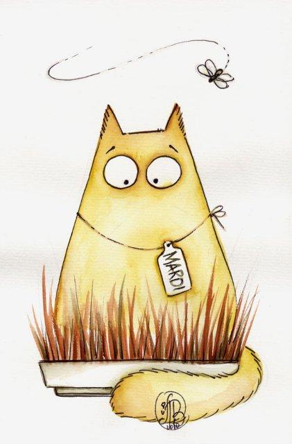 Котики от Maria van Bruggen - блоги В ГОРОДЕ.RU.