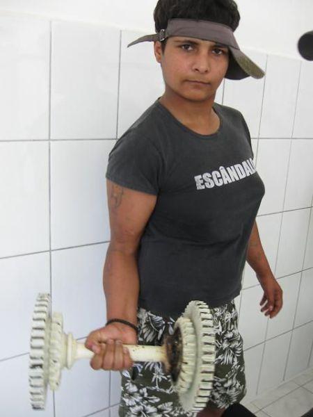 Женщины за колючей проволокой