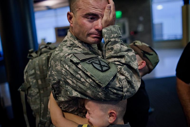 фото солдаты вернулись с войны
