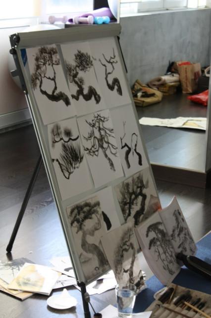 Японская живопись. Катерина Чёрная