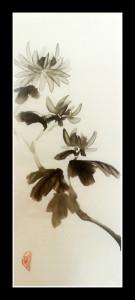 японская живопись, Катерина Черная, дзен живопись, хабоку