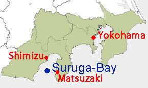 駿河湾地図