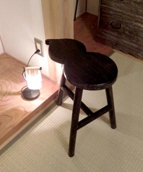 買い物ランプ椅子