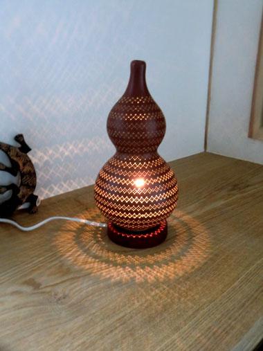 瓢簞ランプ
