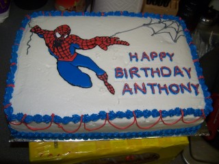 Spiderman Birthday Cake Katskitchen