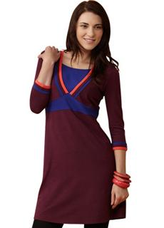 платье-вишневое