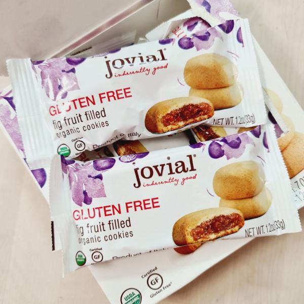 Jovial, Органическое печенье, с начинкой из инжира - без глютена