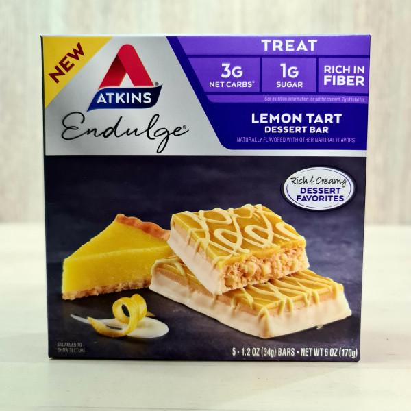 Atkins, Endulge, лимонный пирог