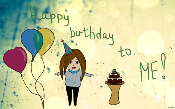 Поздравление с днем рождения для себя любимой статусы 640