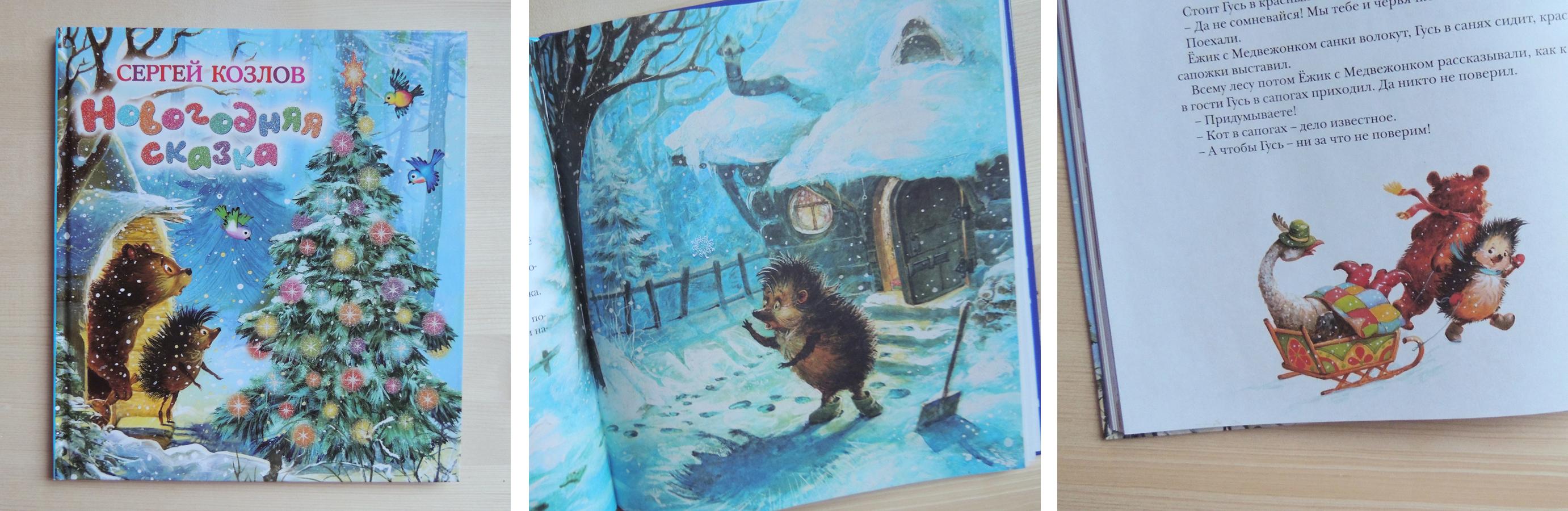 детские зимние книги 5
