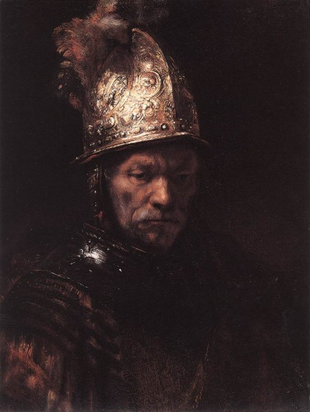 Мужчина в золотом шлеме Х.Рембрандт
