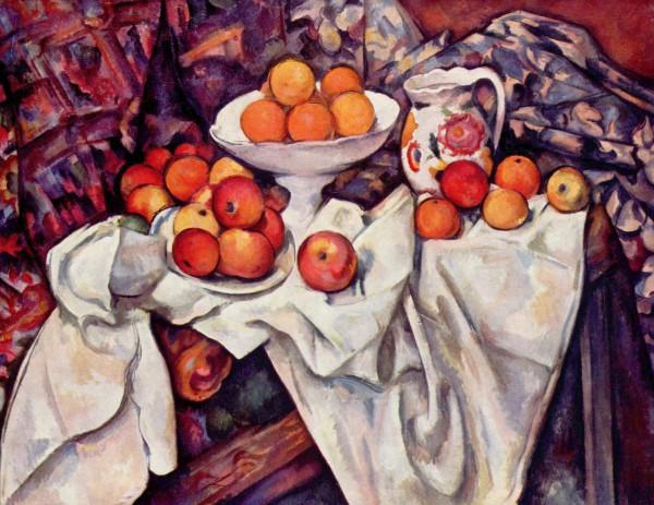 Яблоки и апельсины П.Сезанн