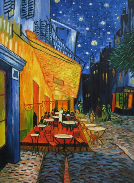 Кафе ночью В.ван Гог